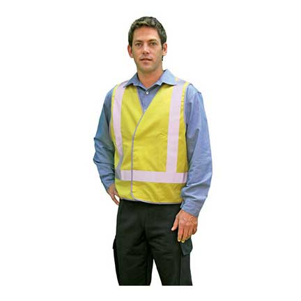 Glo-Safe Vest D/N Y